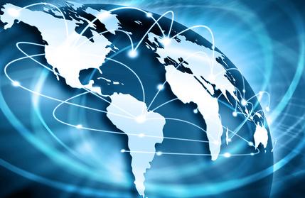 Das Internet verbindet die Welt