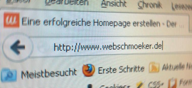 Die Wahl des Domainnamens