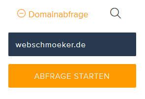 Domaininhaber finden bei der Denic