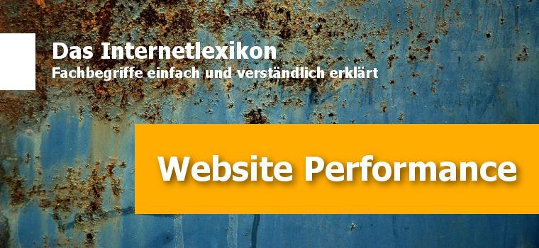 Einführung in die Website Performance und warum du dich damit beschäftigen musst