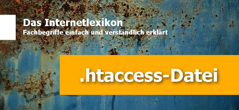 Was ist eine .htaccess-Datei und wozu wird diese benutzt?