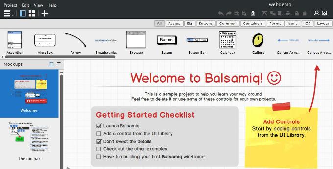Mockups erstellen mit Balsamiq