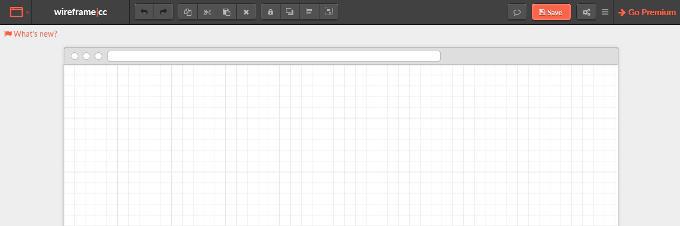 Mit Wireframe|cc kann man schnelle Entwürfe einer Website erstellen