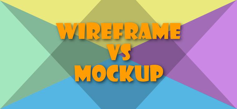Der Unterschied zwischen einem Wireframe und einem Mockup