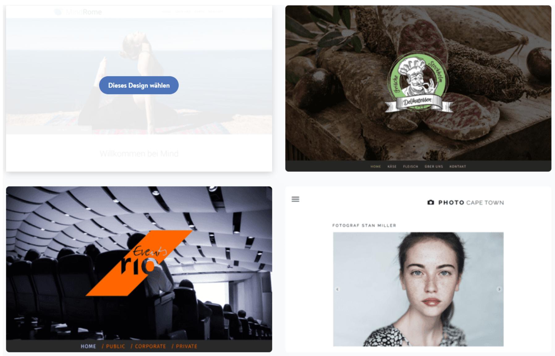 Kostenlose Website erstellen mit Jimdo - Anleitung Schritt 5