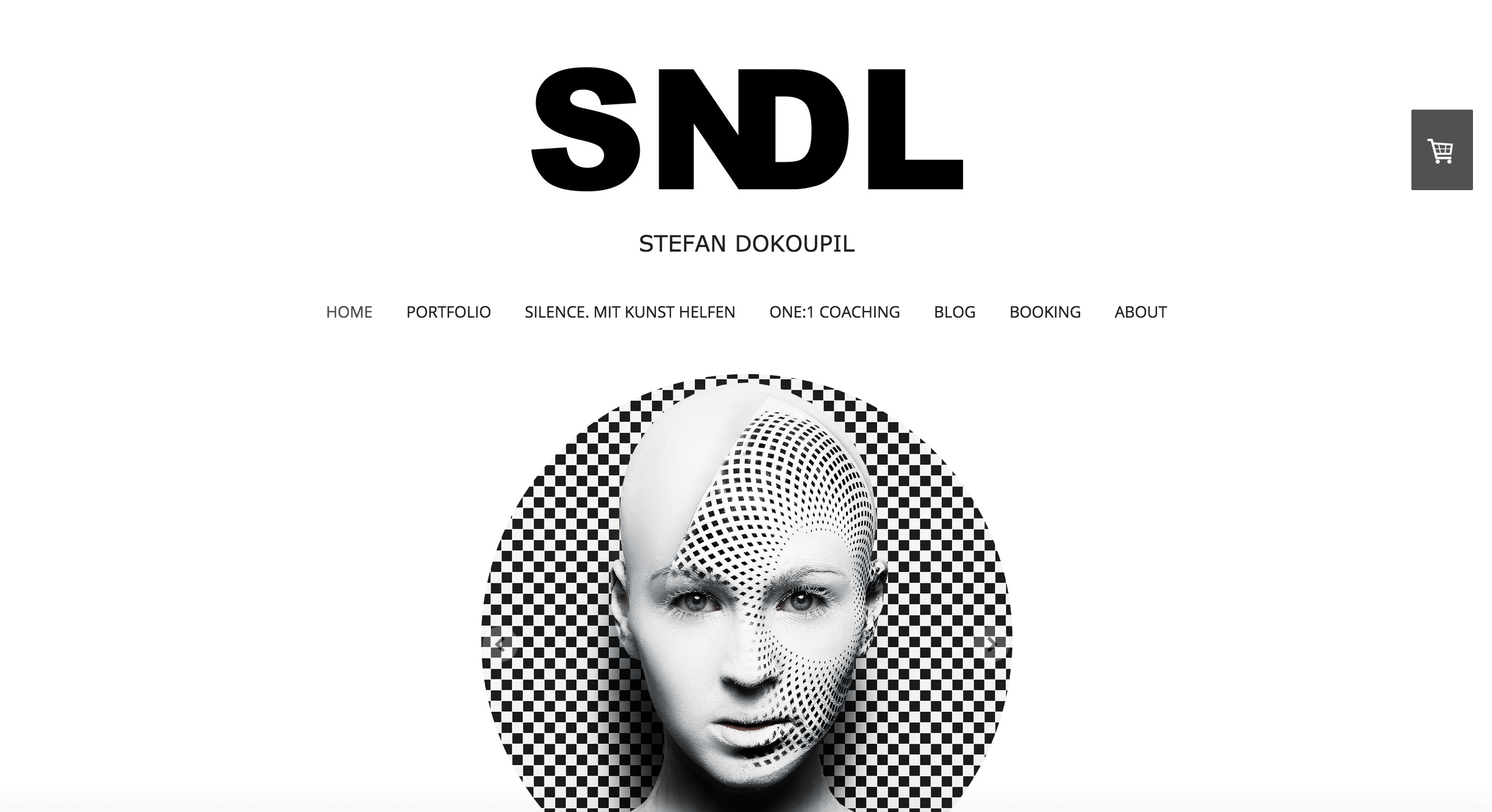 Jimdo Homepage: Design B