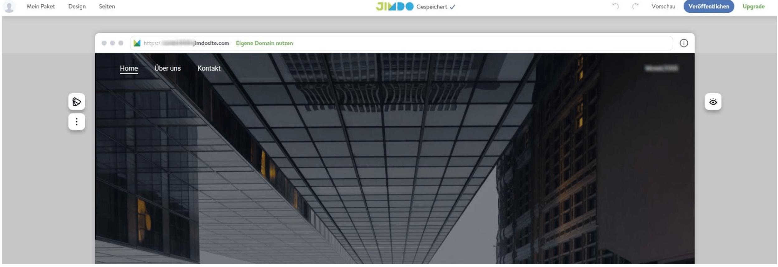 Kostenlose Homepage: Veröffentlichen