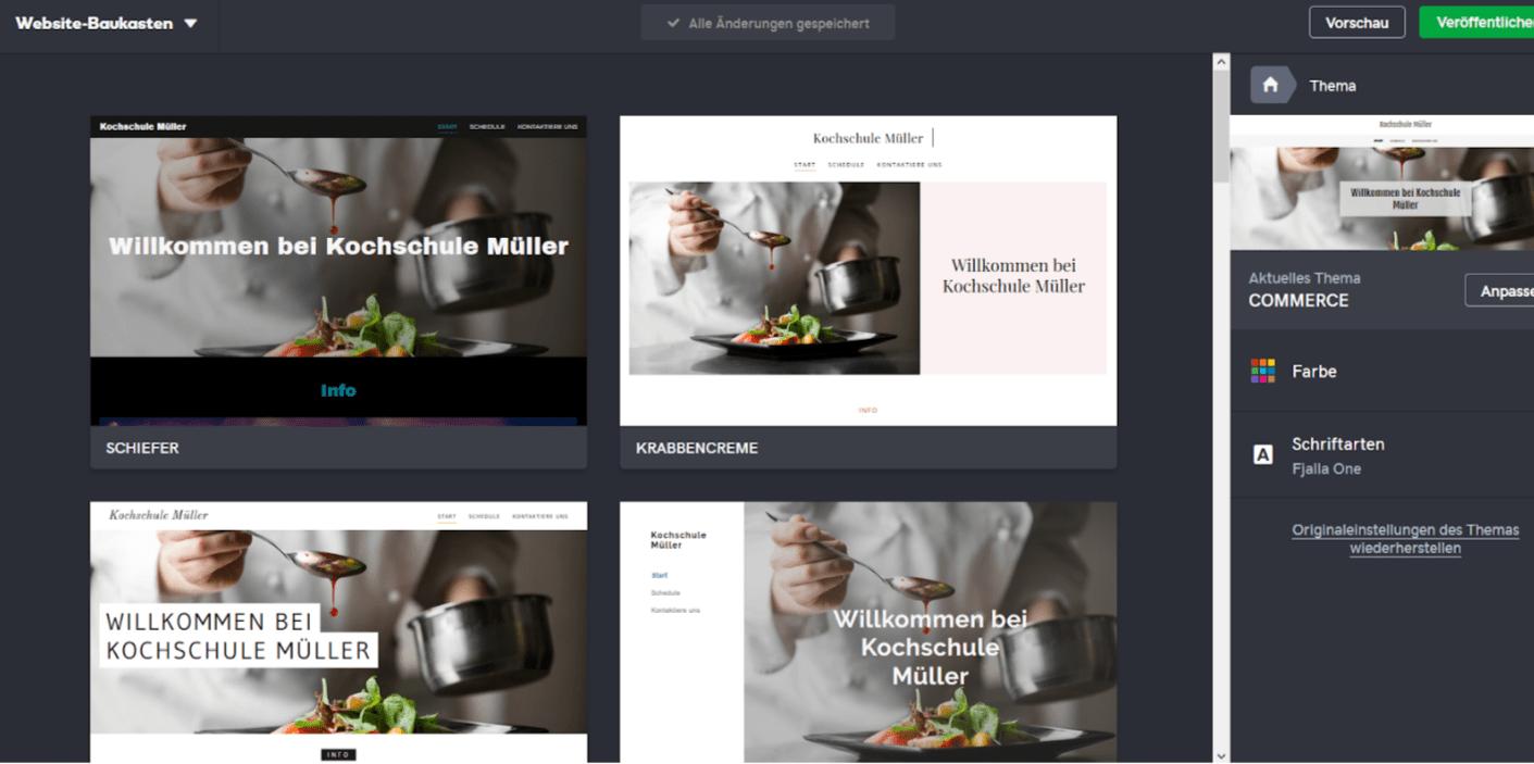 Professionelle Website erstellen mit GoDaddy - Anleitung Schritt 4