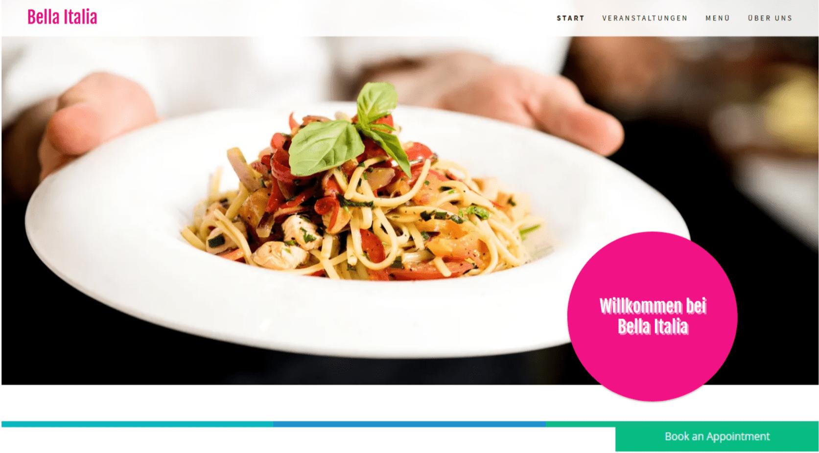 Professionelle Website erstellen - Beispiel 7
