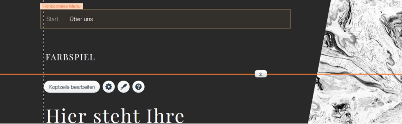 Professionelle Website erstellen mit Wix - Anleitung Schritt 16