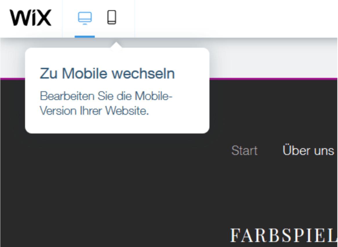 Professionelle Website erstellen mit Wix - Anleitung Schritt 20