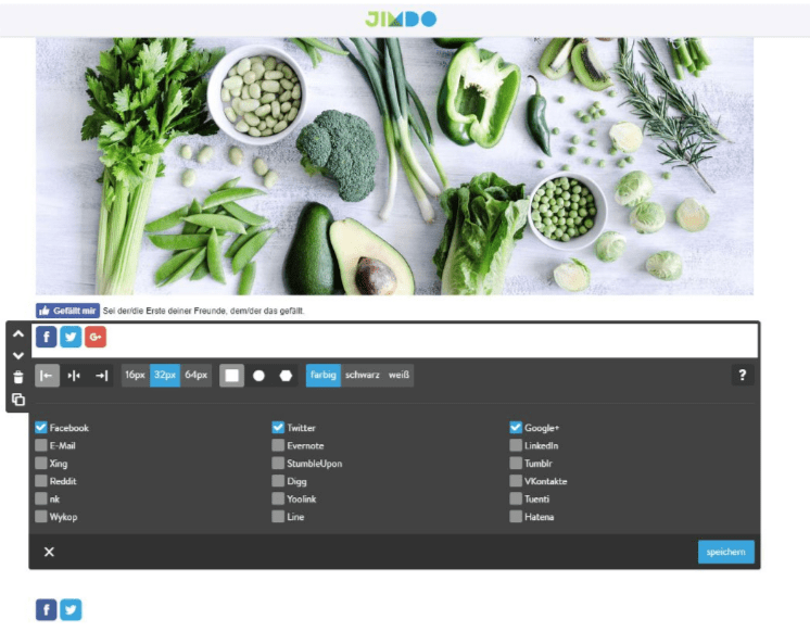 Professionelle Website erstellen mit Jimdo - Anleitung Schritt 5