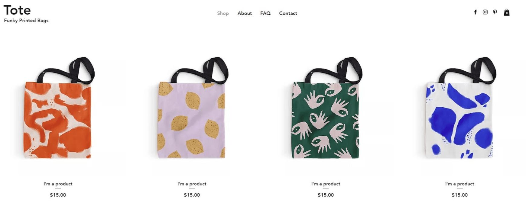 Eigenen Online-Shop erstellen - Beispiel 1
