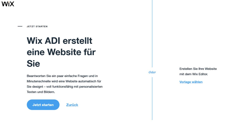 Professionelle Website erstellen mit Wix - Anleitung Schritt 5