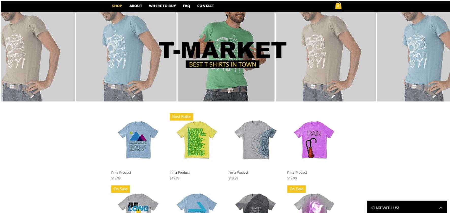Eigenen Online-Shop erstellen - Beispiel 2