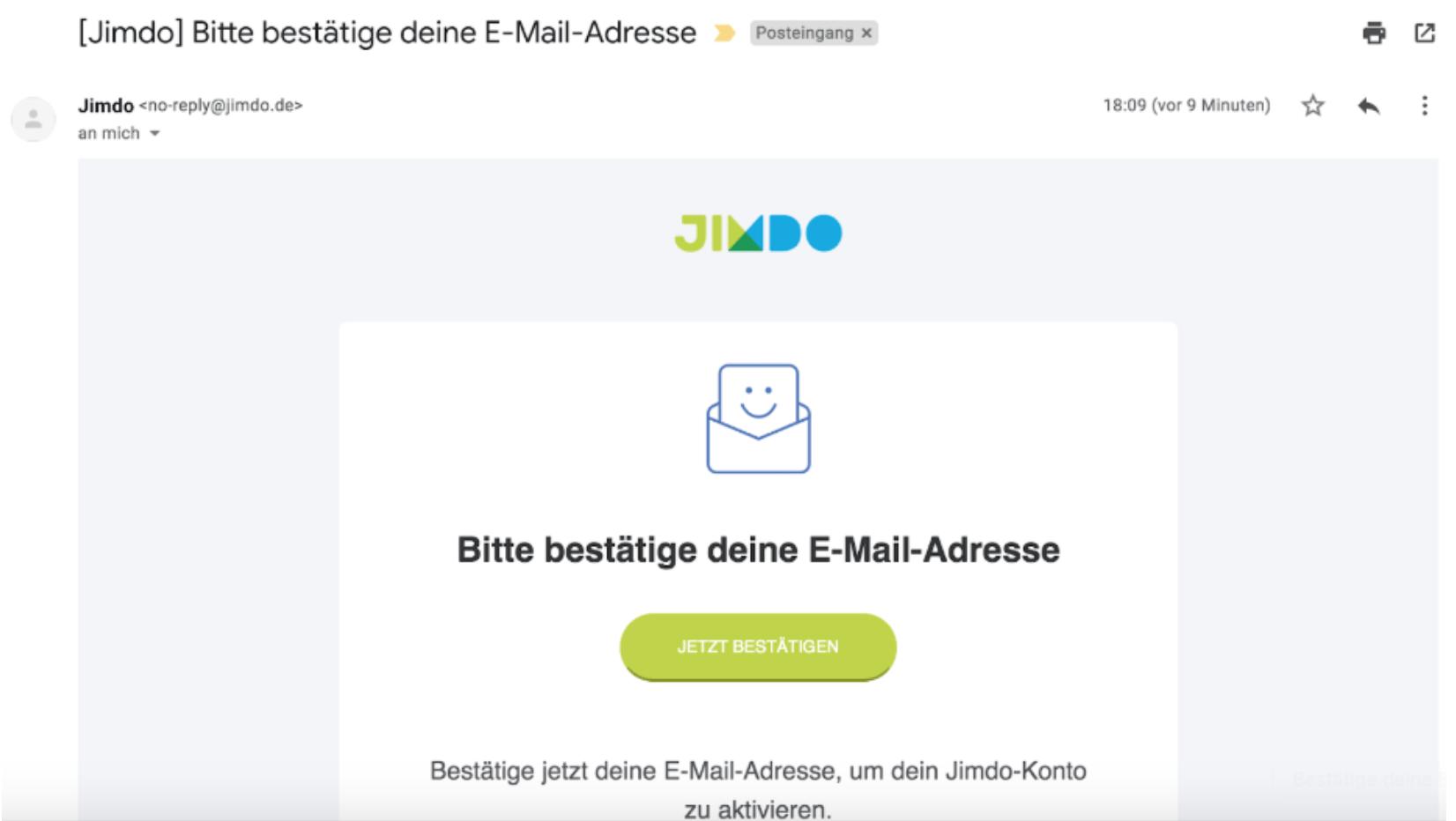 Website programmieren mit Jimdo - Anleitung Schritt 2