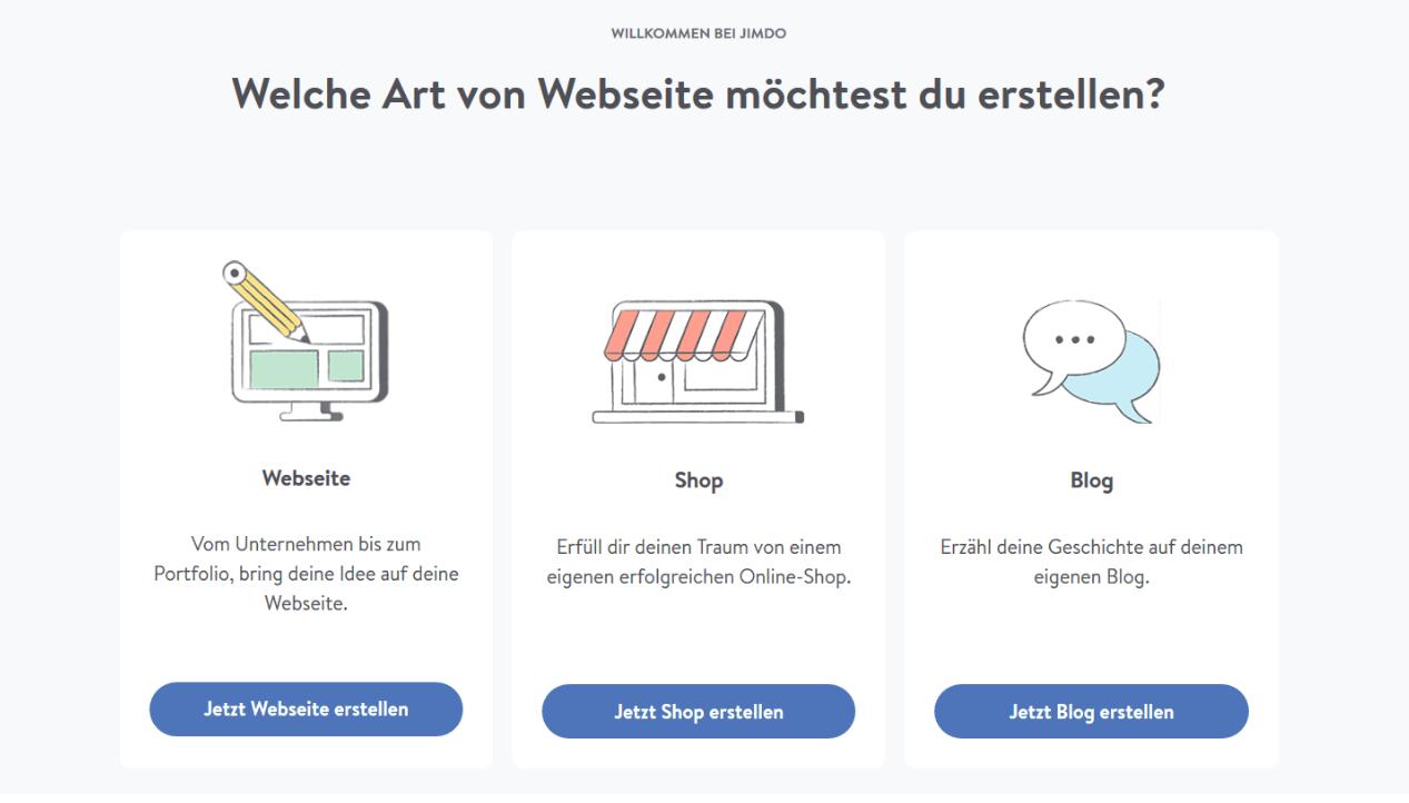 Eigenen Online-Shop erstellen mit Jimdo - Anleitung Schritt 3