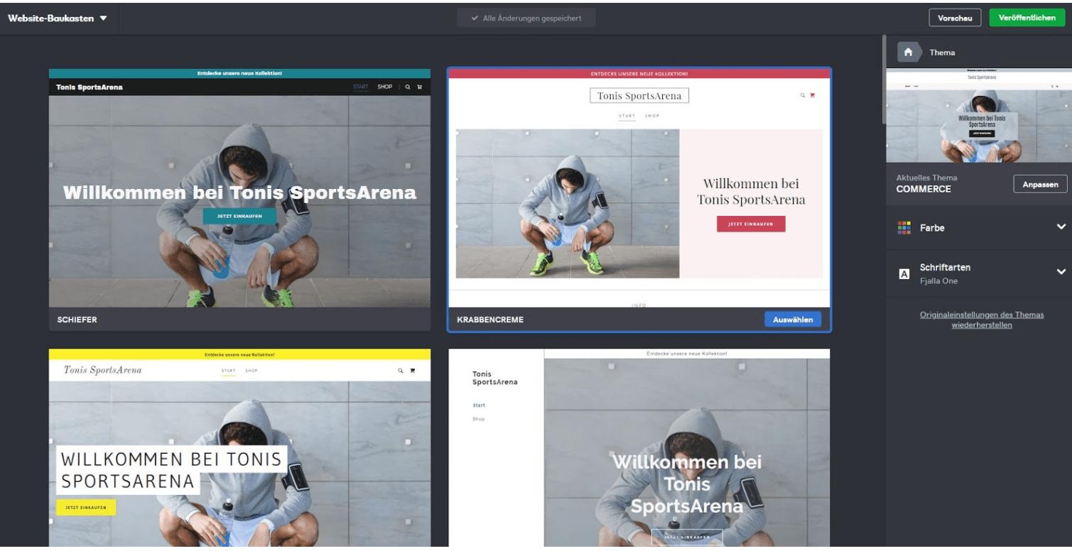 Eigenen Online-Shop erstellen mit GoDaddy - Anleitung Schritt 4
