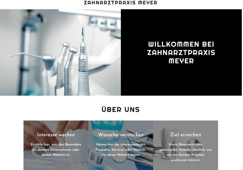 Website für Ärzte erstellen - Beispiel 5