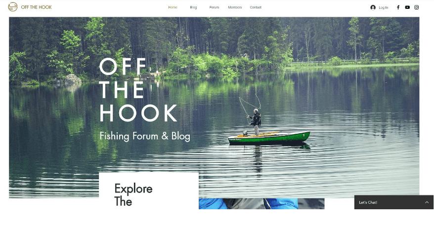 Reiseblog erstellen Wix Beispieltemplate 2