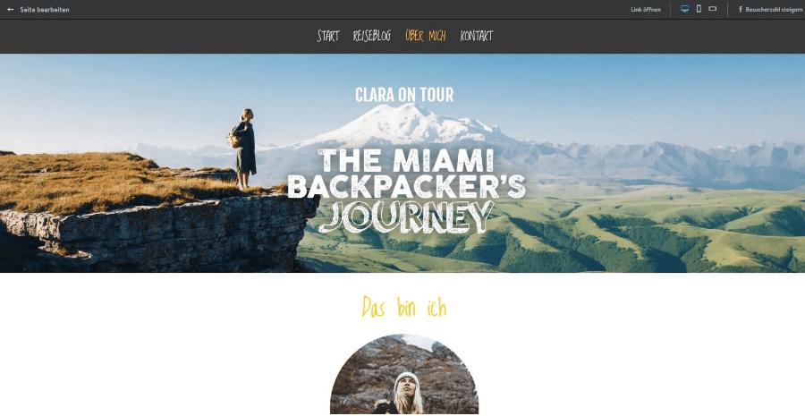 Blog erstellen mit Jimdo Schritt 9 - Testen und veröffentlichen
