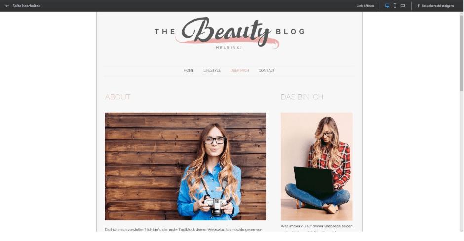 Einfache Homepage erstellen (für Anfänger): Jimdo Schritt 9