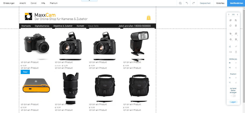 Einfache Homepage erstellen (für Anfänger): Wix Schritt 7
