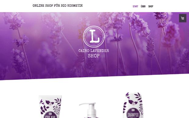 Jimdo Website Baukasten Test Beispieltemplate 5