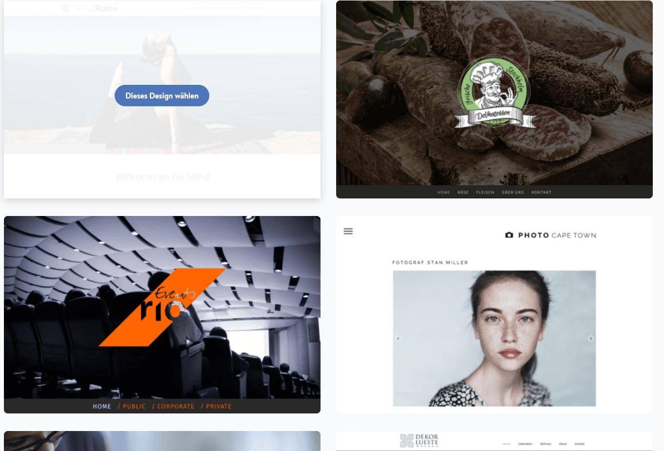 Homepage inkl. Domain erstellen mit Jimdo Schritt 4