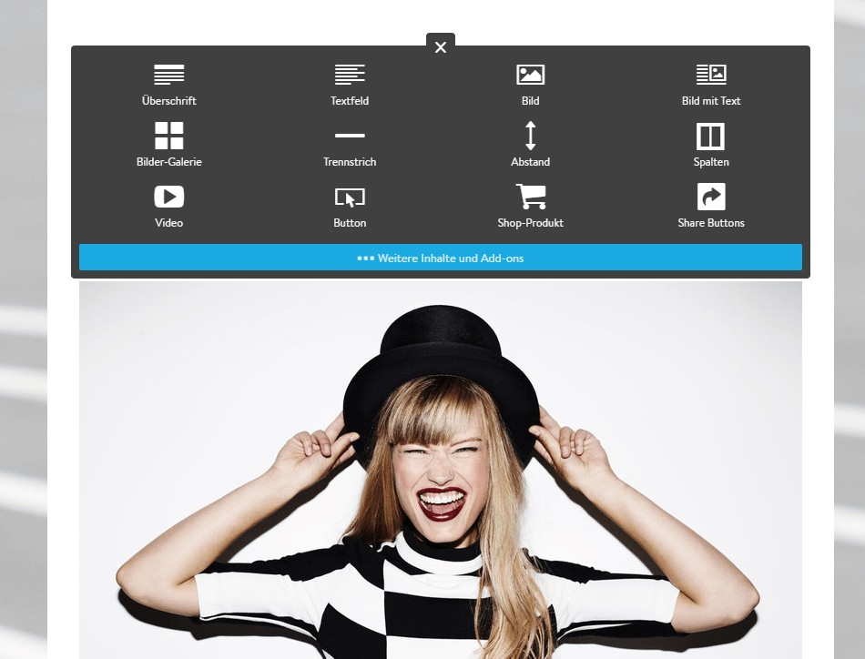 Homepage inkl. Domain erstellen mit Jimdo Schritt 8.2
