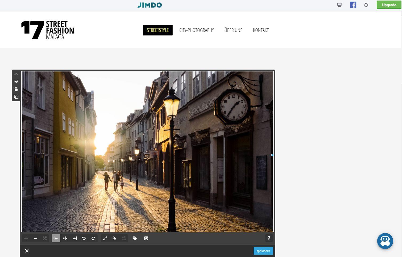 Fotoblog erstellen (2019): Jimdo Schritt 9